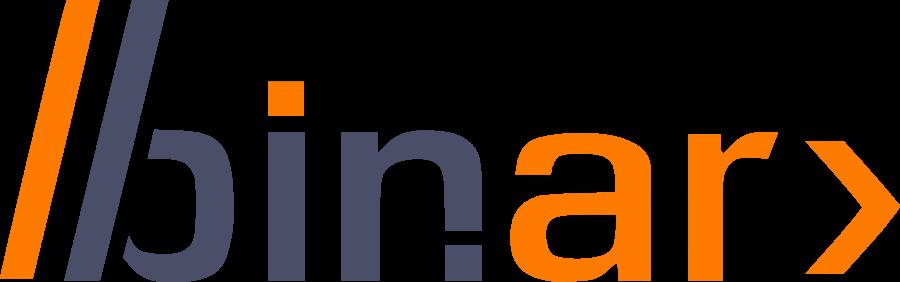 Logo Binar Negro